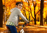 Autumn is perfect to ride a bike