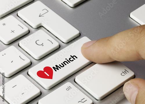I love Munich. Keyboard
