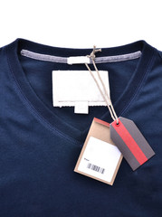 shirt with price tag