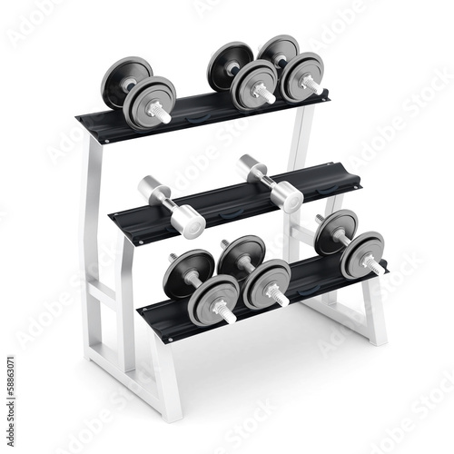 dumbbells fitness