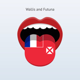 Wallis and Futuna language. Abstract human tongue.