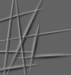 Paper cut lines