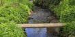 Die Brücke von Ufer zu Ufer