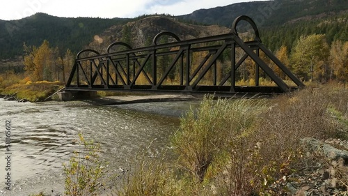 Kettle Valley Rail Bridge over the Nicola River