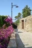 Medieval village of Castellabate in Salerno , Italy
