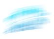 Blue painted brush stroke background