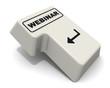 Webinar (вебинар). Клавиша ввод клавиатуры