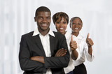 Junges afrikanisches Businessteam