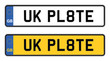 uk number plate - 58872677