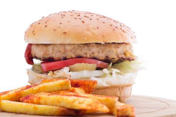 Chicken Sandwich close-up