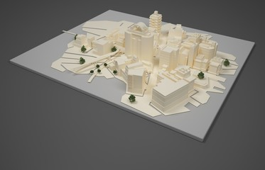 architect plan model