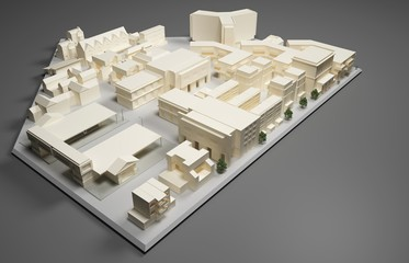 architect plan model