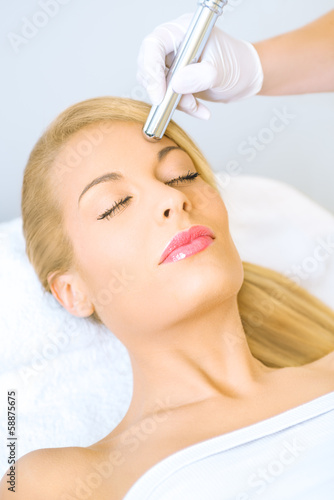 poster of Microdermabrasion treatment
