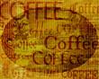 Metallschild - Coffee