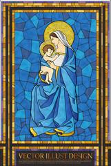 GIH0357 기독교 스테인드글라스 Christianity Stained Glass