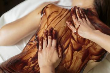 Hot chocolate massage