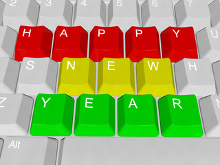 Happy New Year pc keys