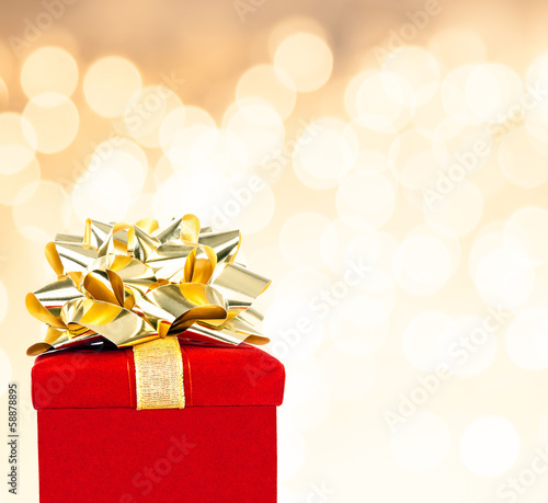 Gift Box Background For All Occasion, With Copy Space