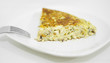 Omelette. Tortilla de patatas, spanish food