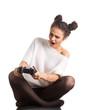 Постер, плакат: Girl gamer
