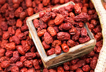 Dried red jujube