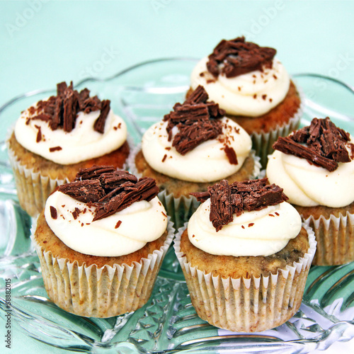 cupcakes im vintage stil