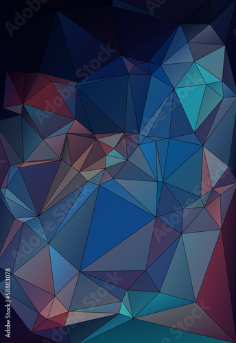 abstract geometric background  stained-glass window vector eps