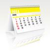 june 2014 desk calendar