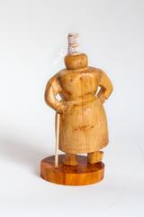 Sujets bretons en bois