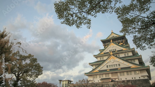 Time lapse of Himeji Castle, Japan for adv or others purpose use