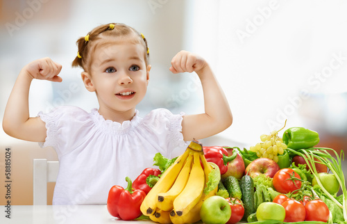 eating fresh fruit - 58885024