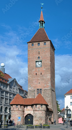 Weisser Turm in Nuremberg, Germany