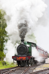 steam train, Strathspey Railway, Highlands, Scotland