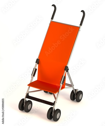 realistic 3d render of buggy