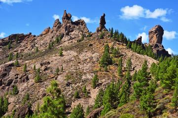 Roque Nublo in Gran Canaria, Spain