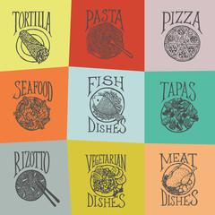 MENY_ICON - Dishes