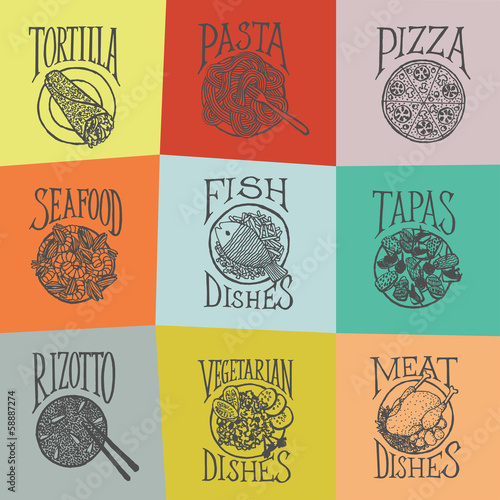 MENY_ICON - Dishes