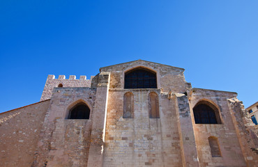 Church of Saint Victor (circa 1200). Marseilles, France