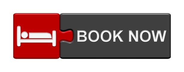 Puzzle-Button rot grau: Book now