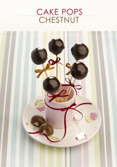 Cake pop chestnut