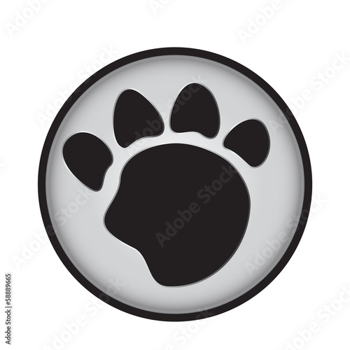 paw badge