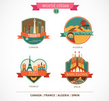 World Places - Paris, Toronto, Barcelona, Sahara