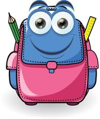 Мультфильм мешок школы
