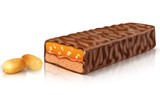 Peanut Chocolate Bar - Stock Image