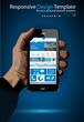 UI Flat Design Elements in a modern Smartphone