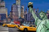Fototapety Collage Manhattan - USA