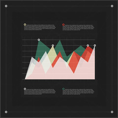 Modern infographics diagram template