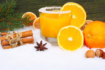Orangensaft, Vitamine im Winter