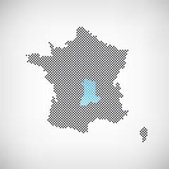 Frankreich Region Auvergne