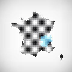 Frankreich Rhône-Alpes